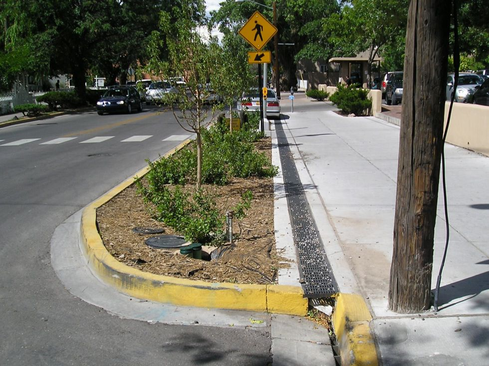 Curb Extensions National Association Of City Transportation Officials
