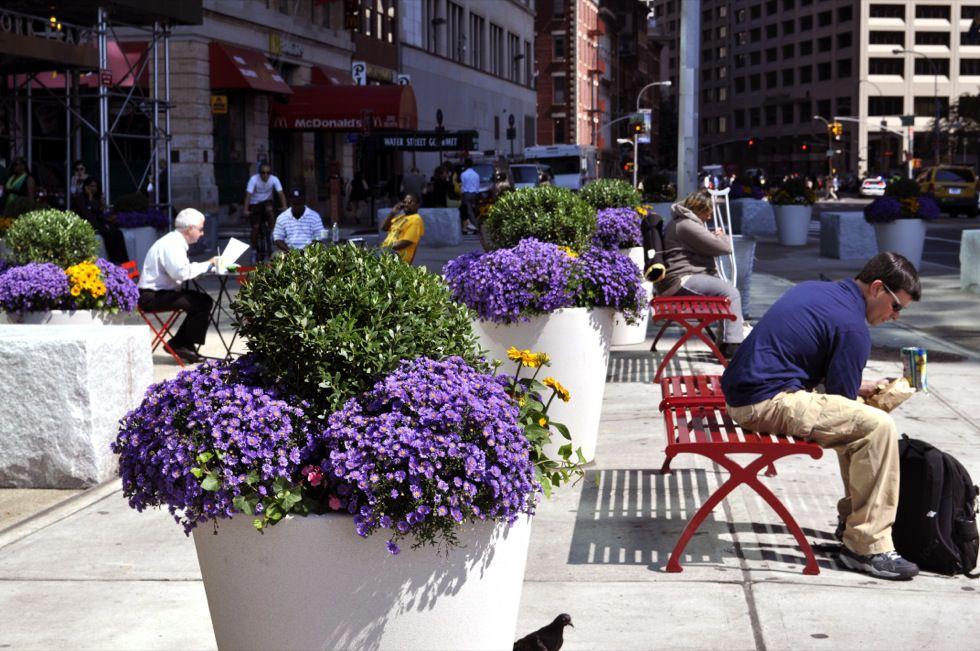 Interim Public Plazas   National Association of City