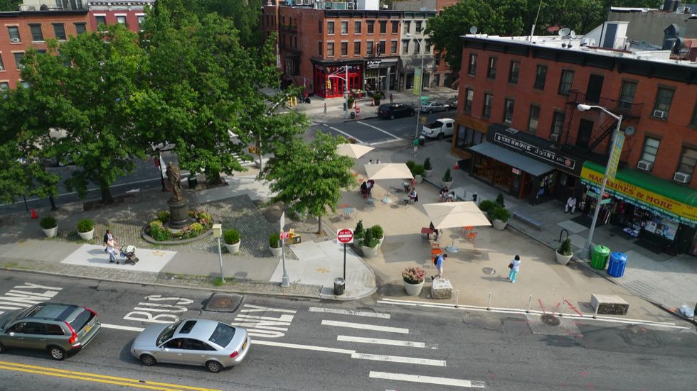 Interim Public Plazas | National Association of City