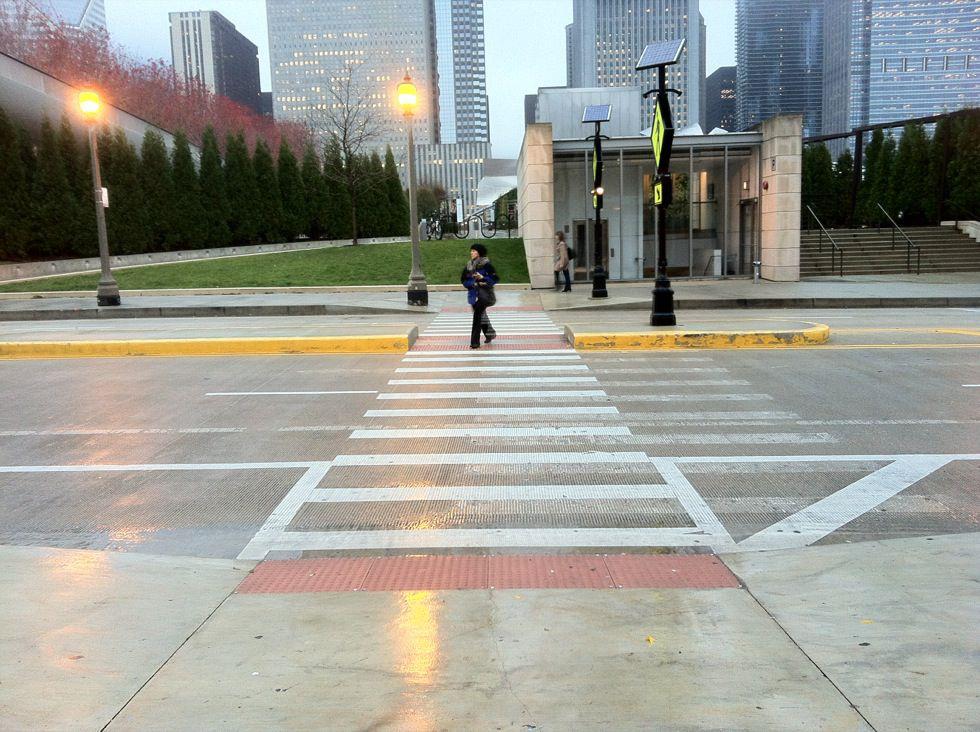 Pedestrian Safety Islands - National Association of City ...