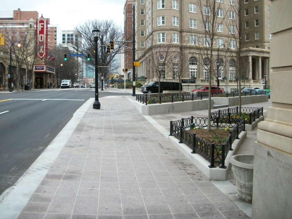 Sidewalks National Association Of City Transportation