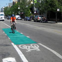 Colored Bike Facilities