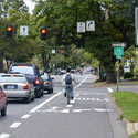 Combined Bike Lane/Turn Lane