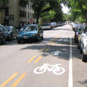 Contra-Flow-Bike-Lane
