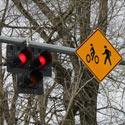 Hybrid Beacon for Bike Route Crossing of Major Street