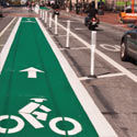 One-Way Protected Cycle Tracks