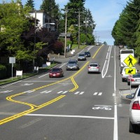 N 130th Street Buffered Bike Lanes and Video Detection, Seattle, WA