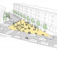 Interim Public Plazas