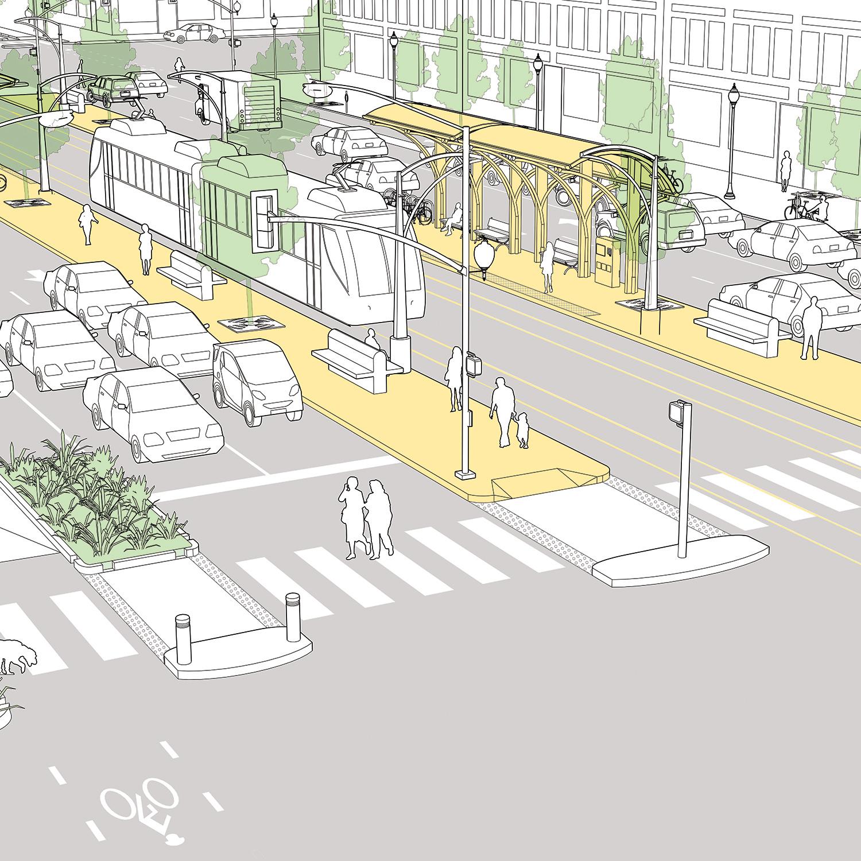 Street Furniture Design Guidelines street design elements - national association of city
