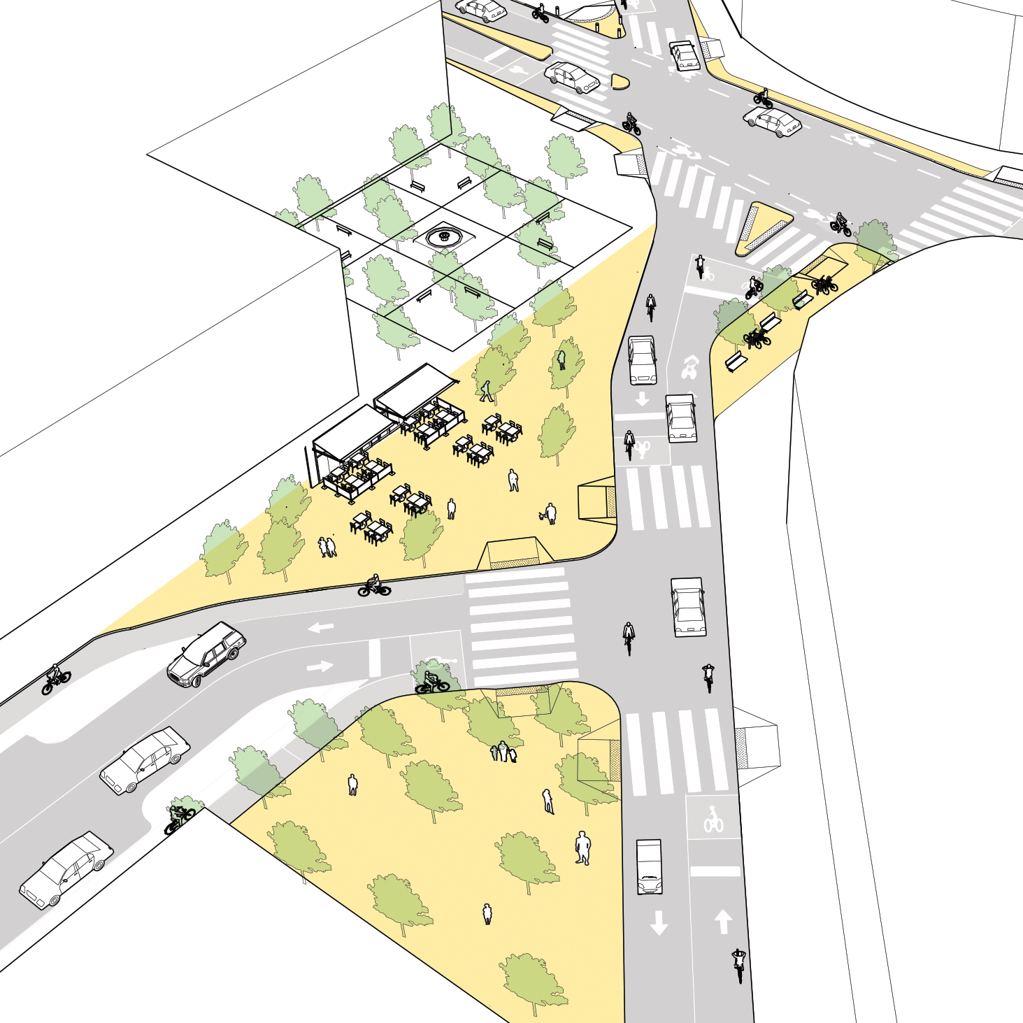 Complex Intersection Analysis National Association Of City Transportation Officials