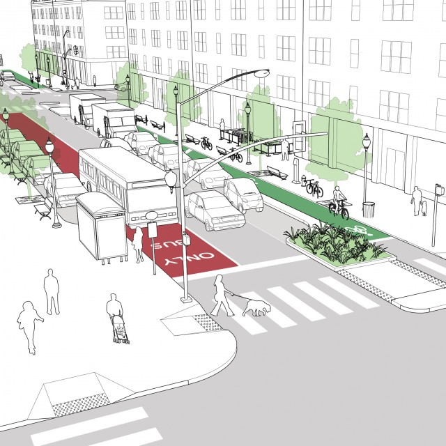 Downtown 1-Way Street