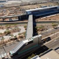 PHX Sky Train via Phoenix METRO Light Rail