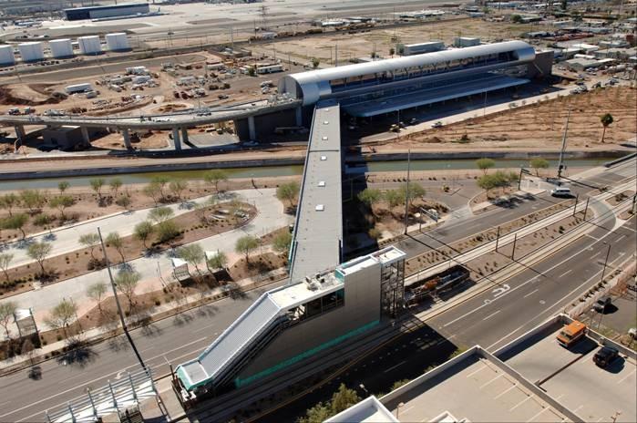 Phx Sky Train Via Phoenix Metro Light Rail National