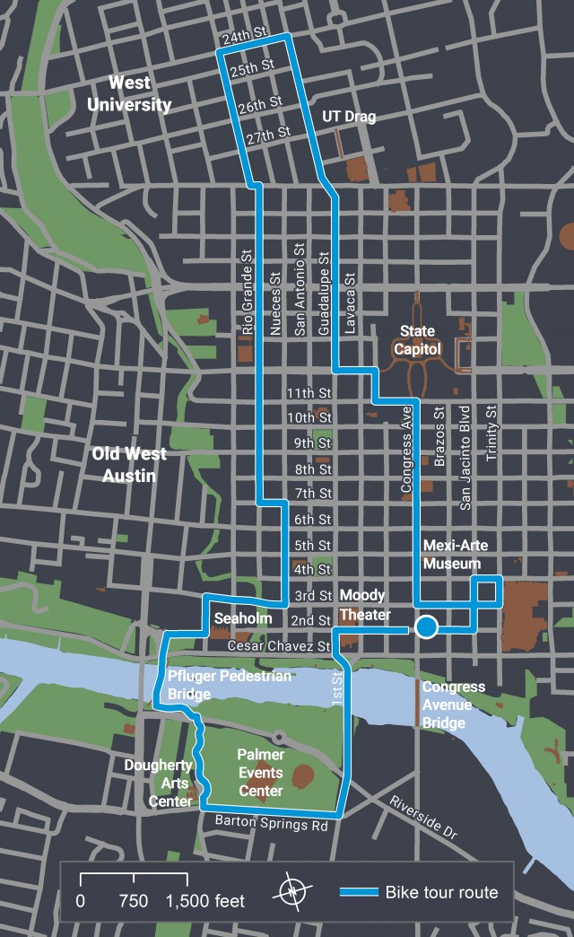 WalkShop: Austin Bike Share System