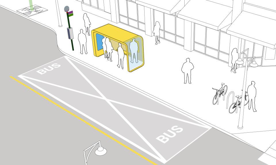 Small Transit Shelter