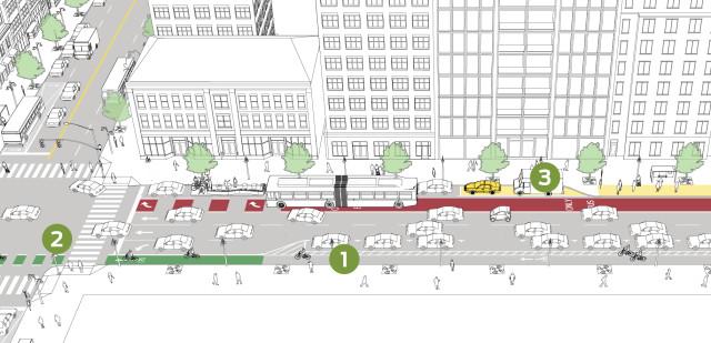 One-Way Transit Corridor