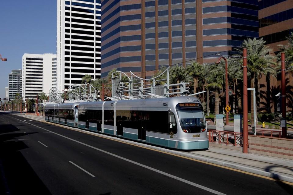 East Valley LRT, Phoenix (credit: Valley Metro)
