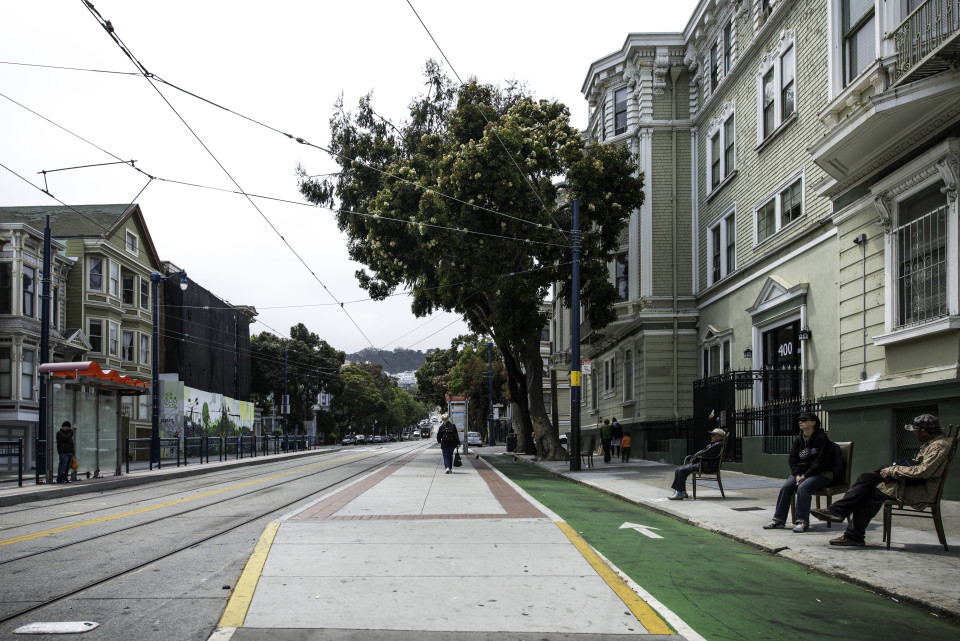 Church St, San Francisco (credit: SFMTA)