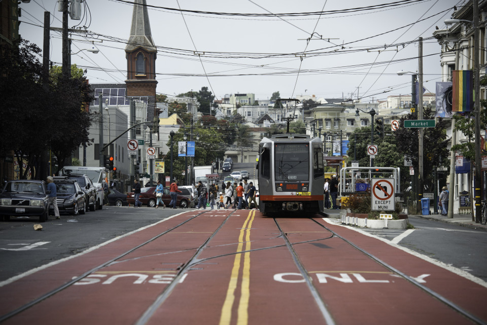 Church Street, San Francisco (credit: SFMTA)
