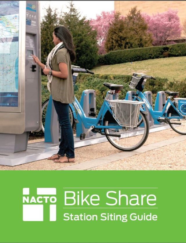 NACTO Bike Share Siting Guide