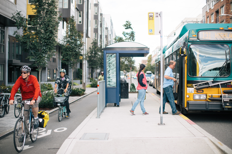 Dexter Avenue, Seattle (credit: Green Lane Project)