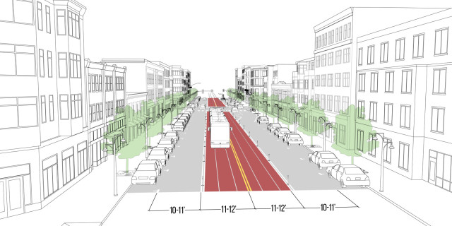 Center Transit Lane