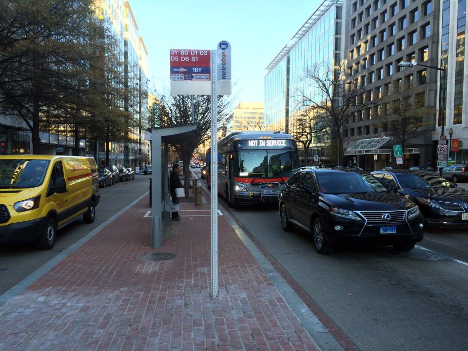 K Street, Washington DC (credit: Craig Toocheck)