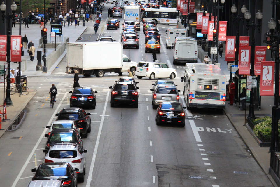 Dearborn St, Chicago (credit: CDOT)