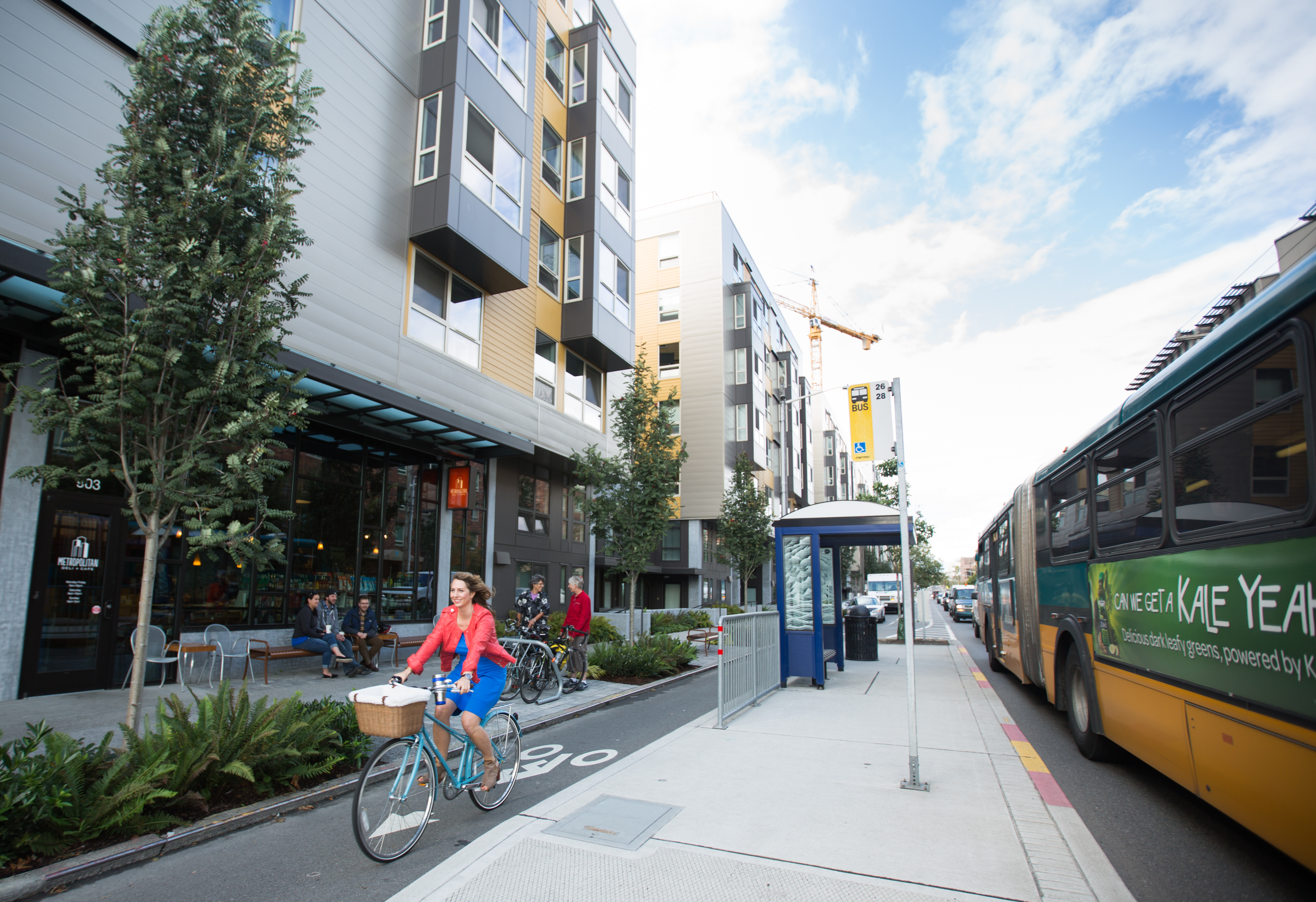 Dexter Avenue, Seattle (credit: Green Lane Project)