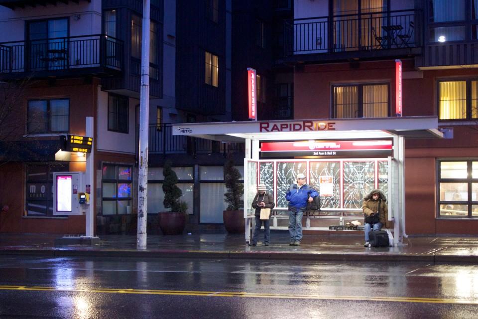3rd Avenue, Seattle (credit: Oran Viriyincy)
