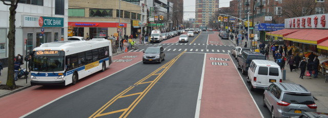 Transit Lanes & Transitways