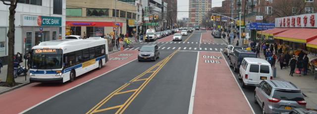 Transit Lanes & Transitways