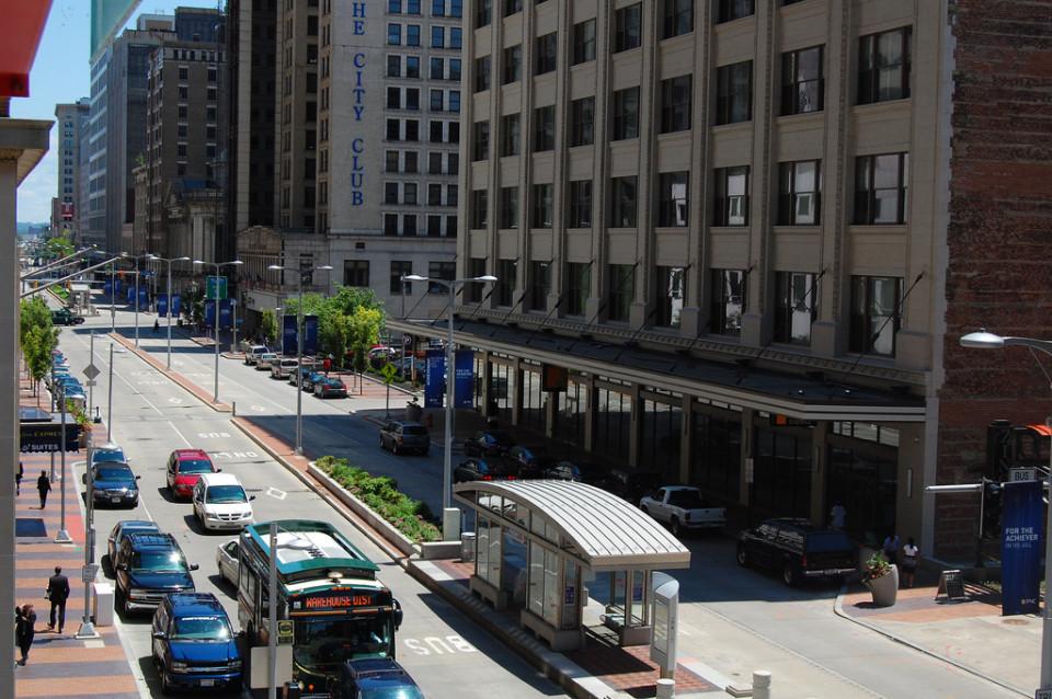 Euclid Ave, Cleveland (credit: Sam Bobko)