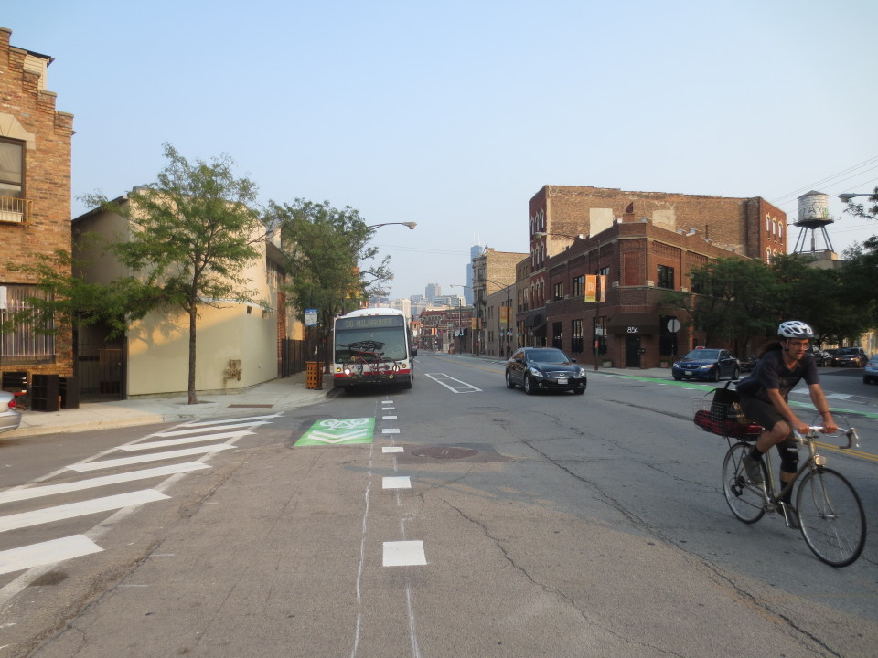 N. Milwaukee Ave, Chicago (credit: CDOT)