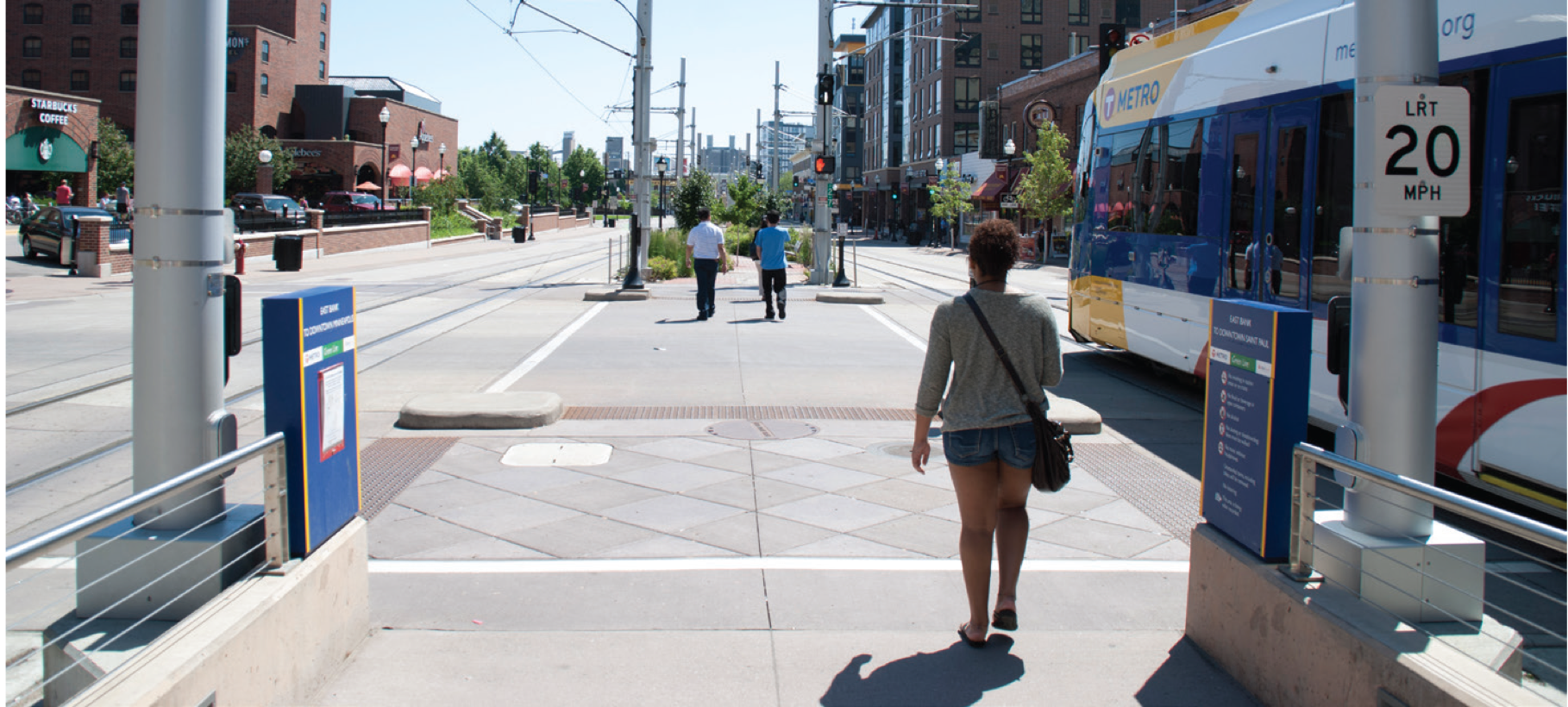 University Ave, Minneapolis (credit: MetroTransit)
