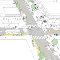 Enhanced Neighborhood Transit Street