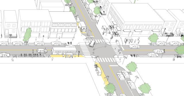 Enhanced Neighborhood Transit Street