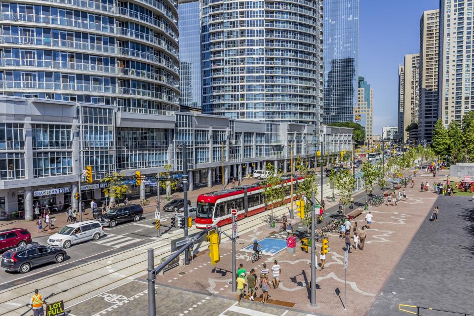 Queens Quay Blvd, Toronto (credit: Brian Medina)