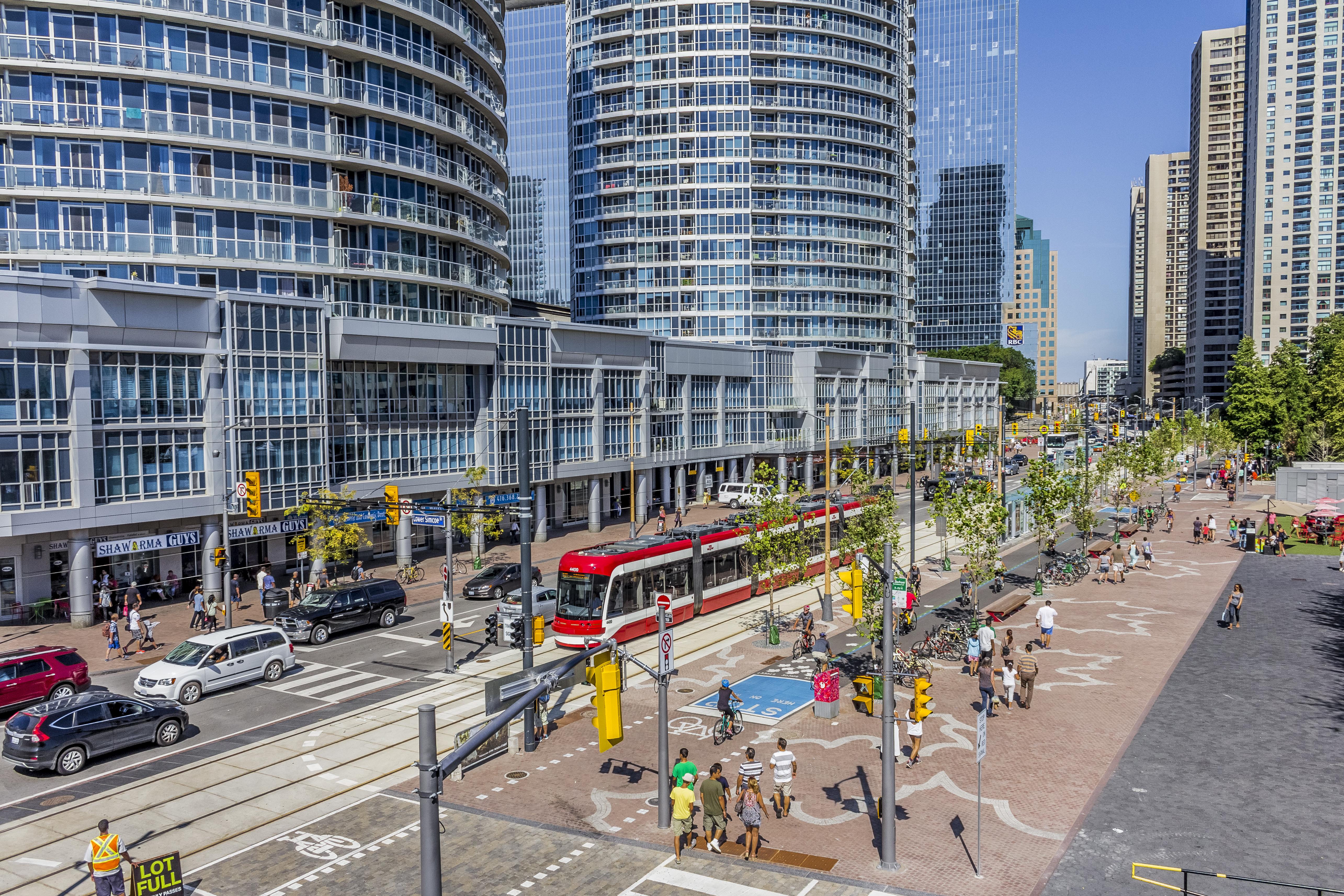 Queens Quay, Toronto (credit: Brian Medina)