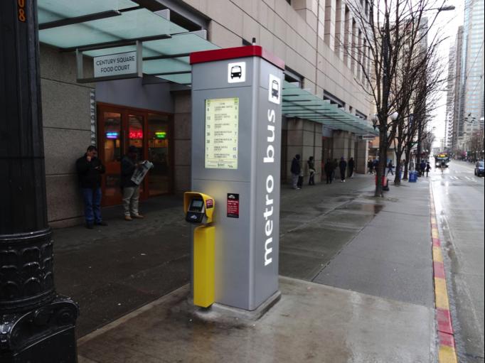 Curbside fare machine, Seattle (credit: SDOT)