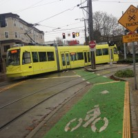 Bicycle Rail Crossings