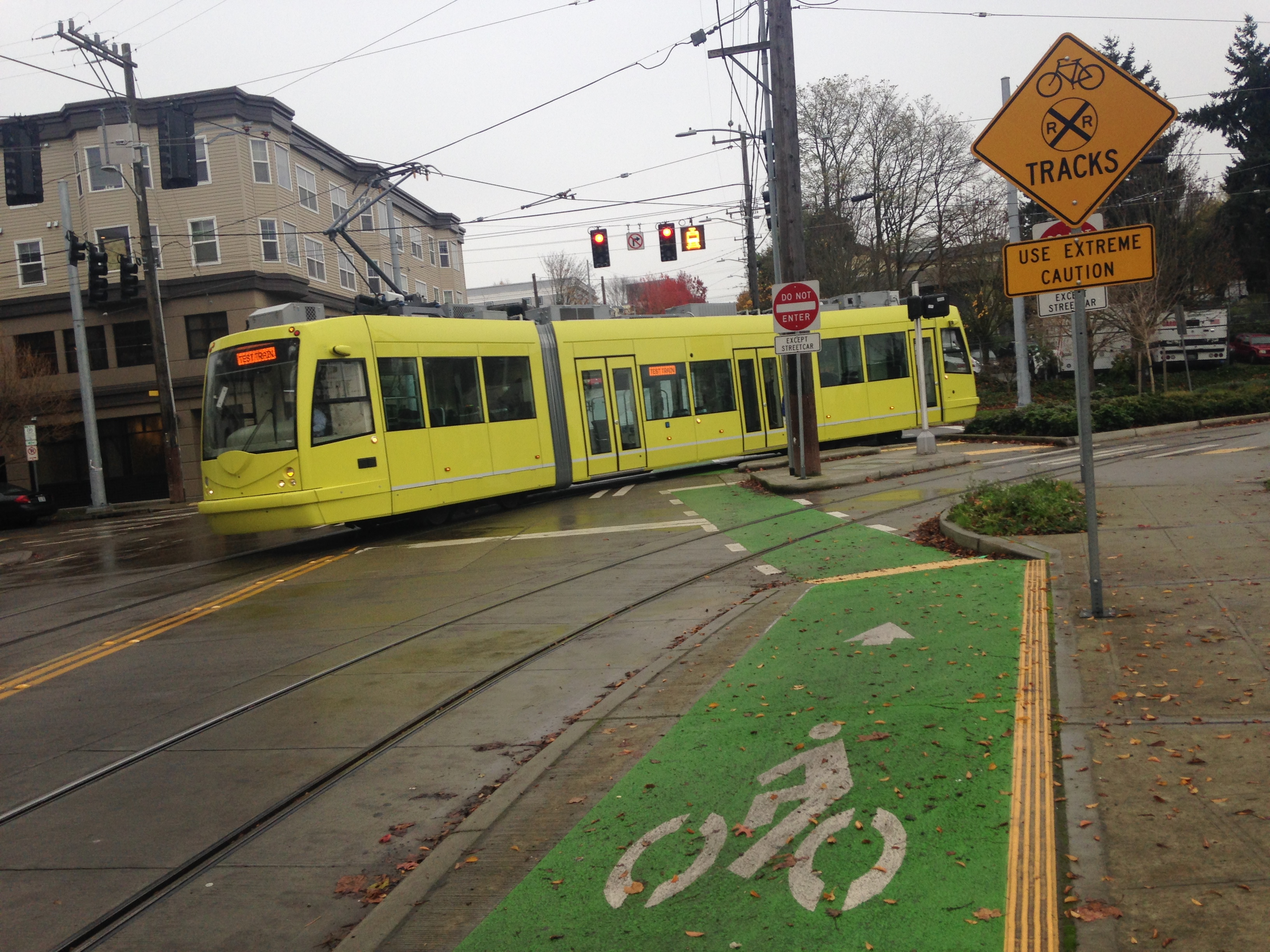 Bicycle Rail Crossings | National Association of City