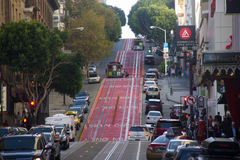 Powell Street, San Francisco (credit: Christof Spieler)