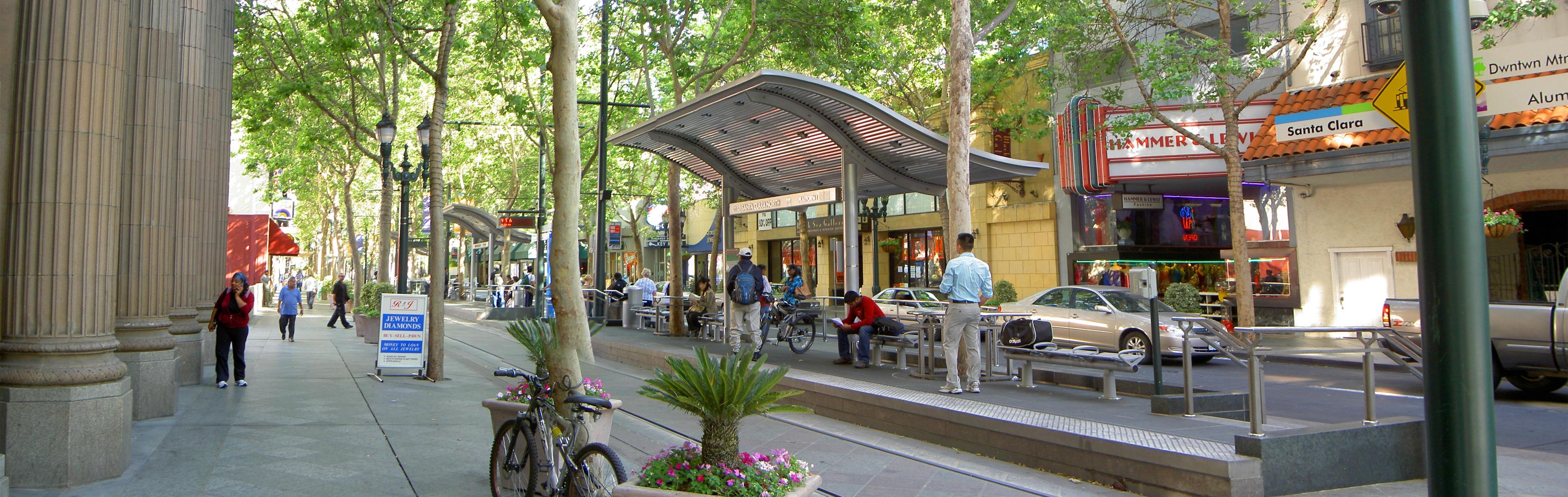 2nd Street, San Jose (credit: Wikimedia user XAtsukex)