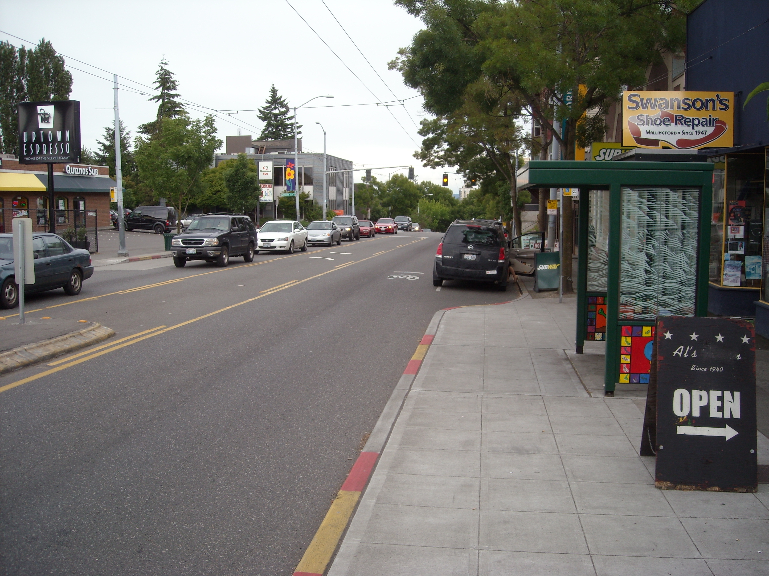 45th & Corliss, Seattle (credit: SDOT)