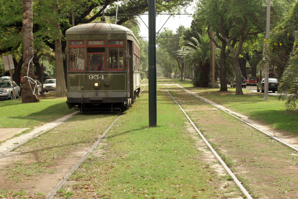 St. Charles Avenue, New Orleans (credit: Flickr user gwen)