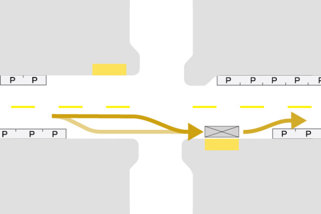 Stop Placement & Intersection Configuration