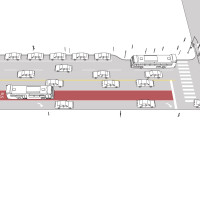 Transit Approach Lane/Short Transit Lane