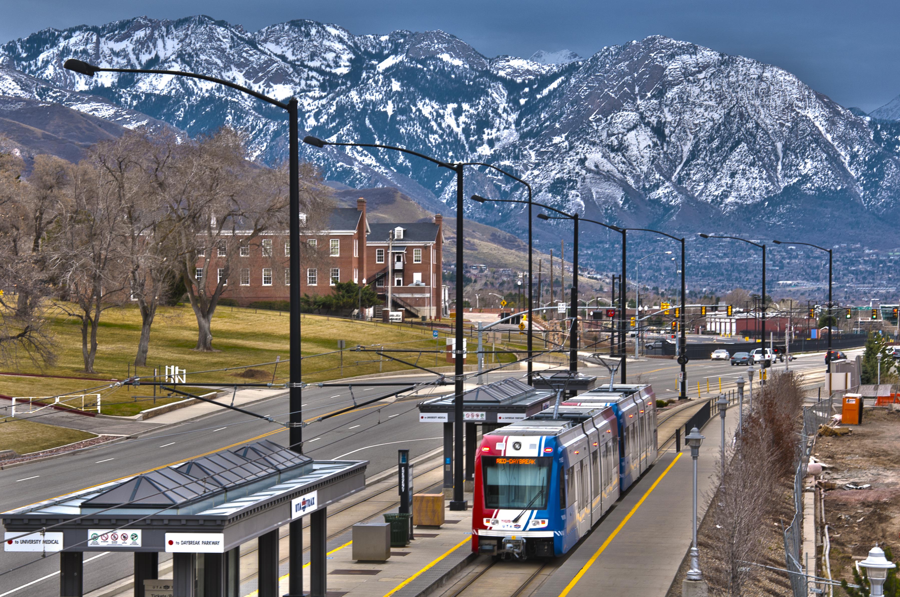 Fort Douglas Station, Salt Lake City (credit: Flickr user vxla)