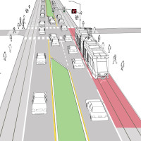 Virtual Transit Lane